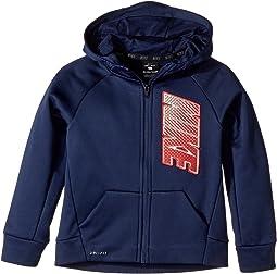 Nike Kids - Therma Full Zip Hoodie (Little Kids)