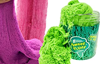 1 Pound Cotton Candy Putty Toys Sensory Sand Fluff Stuff Stress Relief Kids Toy (1 Unit) Cloud Slime & Kinetic Mad Play Th...