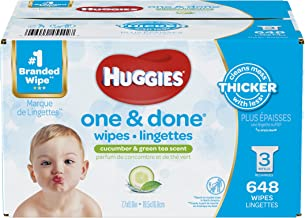huggies one and done 648 wipes