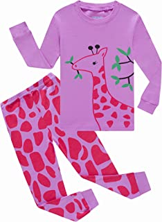 Sponsored Ad - Family Feeling Boys Girls Pajamas Toddler Pjs 100% Cotton Kids Sleepwears