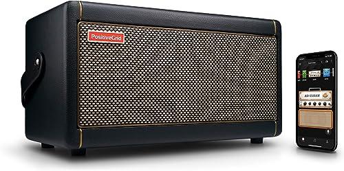 Amplificateur pour Guitare Positive Grid Spark, Combo de 40 Watts pour Guitare Électrique, Acoustique et Basse, Appli...