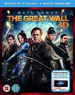 The Great Wall [Blu-ray 3D + Blu-ray]
