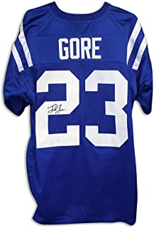 Frank Gore Autographed Jersey - Blue - Autographed NFL Jerseys