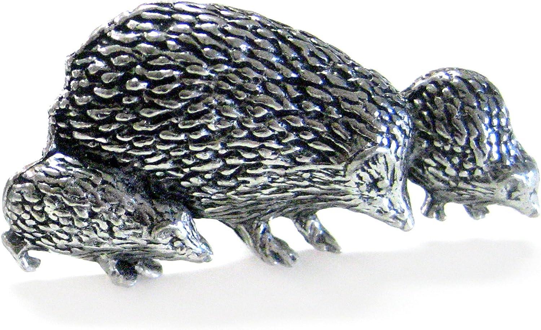 Hedgehog Family Cufflinks