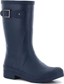 Chooka Women's Solid Mid-Height Rain Boot