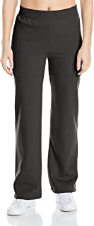 (ebony, m) - Hanes Women's Essential Fleece Sweatpant available in Regular and Petite