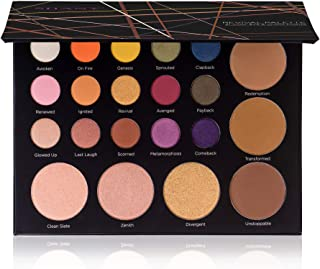 SHANY Revival Palette - 21-Colour Eye & Cheek Palette with 15 Matte and Shimmer Eyeshadows, 3 Bronzers and 3 Highlighters