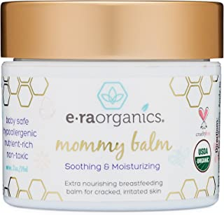 Sponsored Ad - Soothing Nipple Cream for Breastfeeding Moms 100% Natural, USDA Certified Organic Healing Balm For Chapped,...
