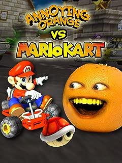 Annoying Orange vs Mario Kart