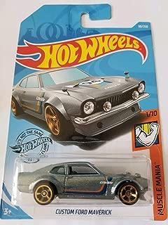 Hot Wheels 2019 Muscle Mania - Custom Ford Maverick, Gray 98/250