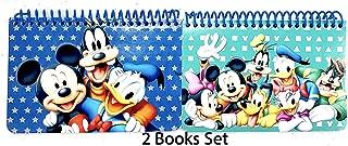 Eemrald Disney Mickey Mouse Spiral Autograph Books - 2 Books Set (MickeyMinnie&Friends)