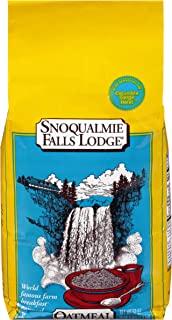 Snoqualmie Falls Lodge Old Fashioned Oatmeal, 52-Ounce Bag