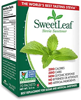 SweetLeaf Natural Stevia Sweetener, 70 Count (.2 Pack(70 Count))