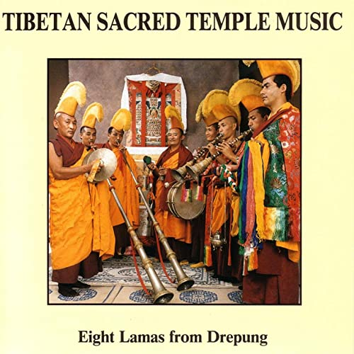 Tibetan Sacred Temple Music by Eight Lamas From Drepung on Amazon