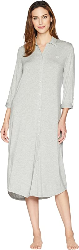 Long Sleeve Roll Tab Ballet Sleepshirt