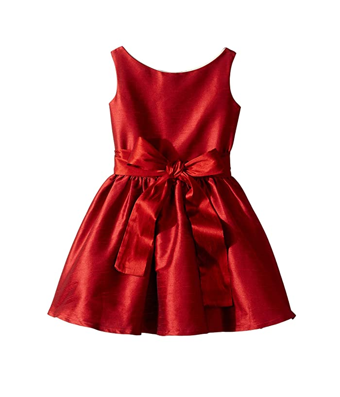 Kids 1950s Clothing & Costumes: Girls, Boys, Toddlers fiveloaves twofish Holiday Lola Party Dress ToddlerLittle Kids Red Girls Dress $58.00 AT vintagedancer.com