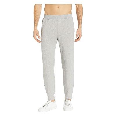 ASICS Tiger Logo Sweatpants (Mid Grey Heather) Men