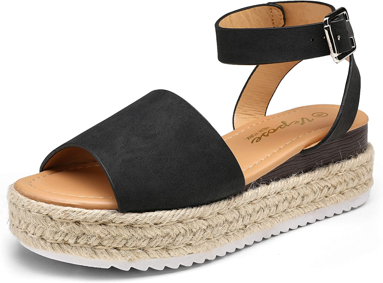 Vepose Women's 00A Espadrilles Sandals Summer S National products Platform Classic Max 59% OFF