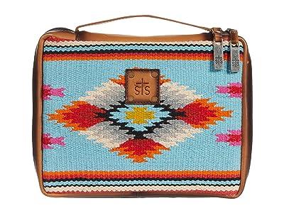 STS Ranchwear Saltillo Tablet/Book Cover (Light Blue/Orange/Pink) Bags