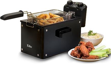 Elite Platinum EDF-3500GB Maxi-Matic 3.5 Quart Deep Fryer, Black