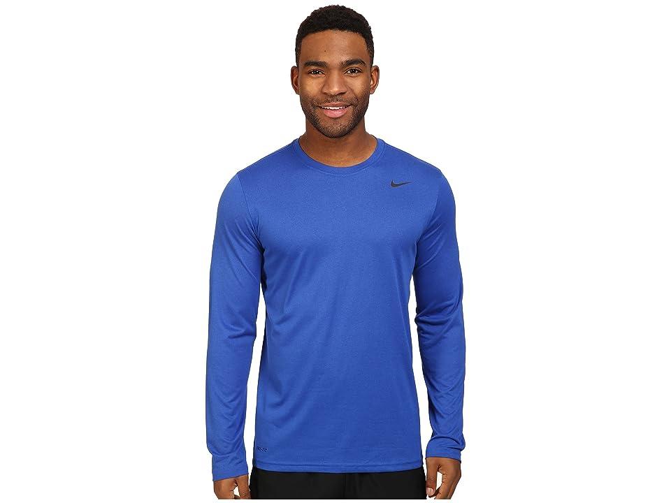 Nike Legend 2.0 Long Sleeve Tee (Game Royal/Black) Men