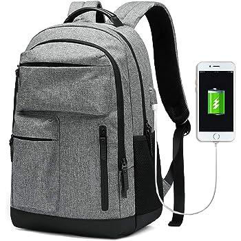 Rucksack Sport Reisen Arbeit Freizeit Laptop Schulrucksack Herren Mit USB Port