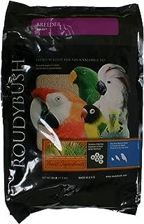 RoudyBush Breeder Bird Food, Nibbles, 25-Pound