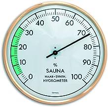 TFA 40.1012 Thermo-hygromètre pour sauna 16 cm (Import Allemagne)
