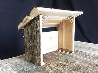 Tall Nativity Stable, Rustic Nativity Creche, Manger