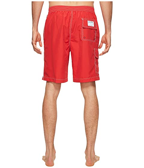 Baja Beach Bahama Tommy Swim Red Trunk Ribbon 15gcq