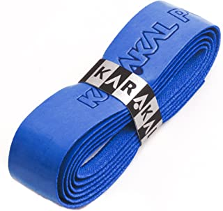 Karakal PU Supergrip Racquet Grip - Tennis/Badminton/Squash - Royal Blue x 1 Grip