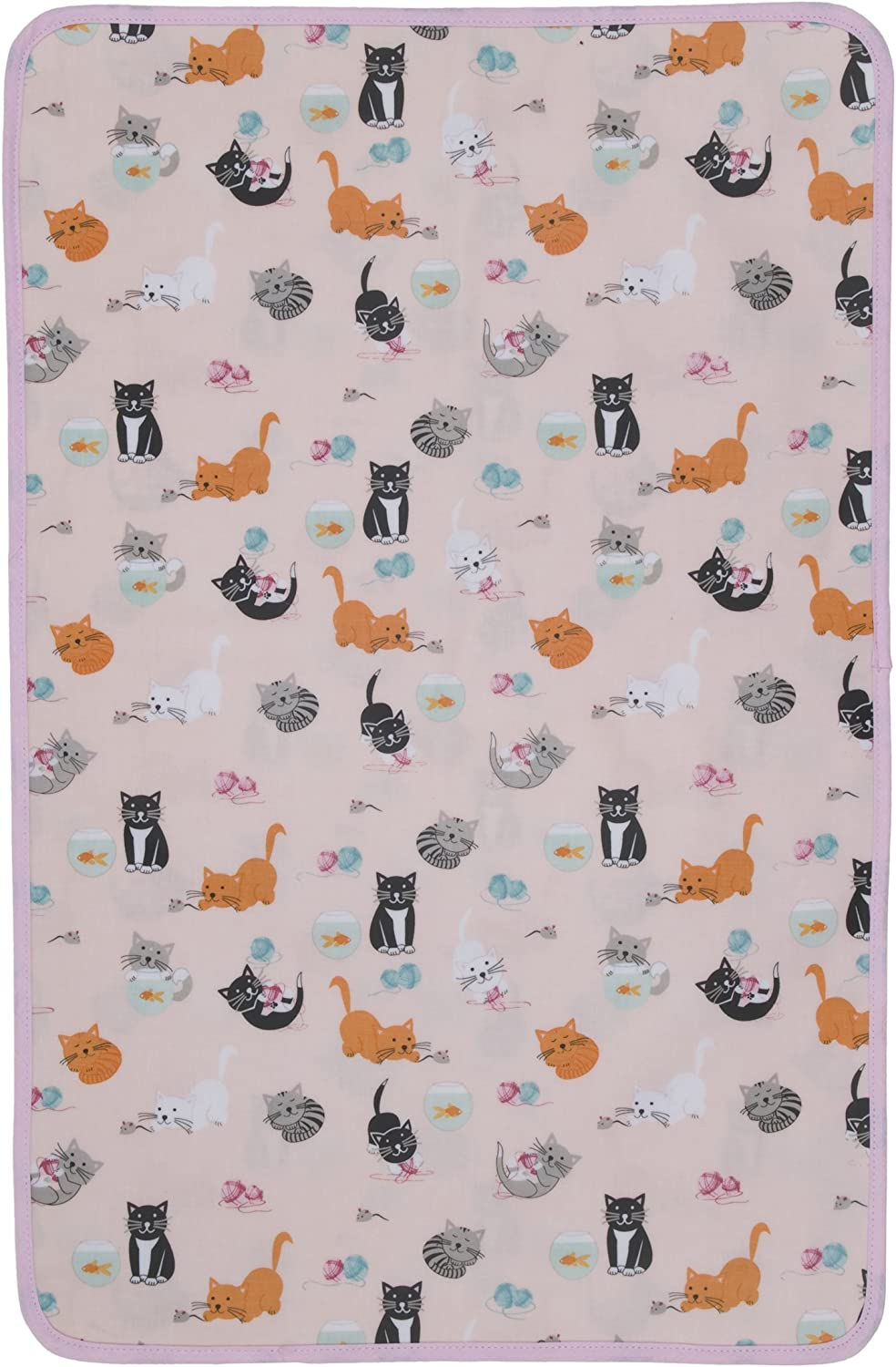 Now Designs Laminated Changing Pad, Whiskers