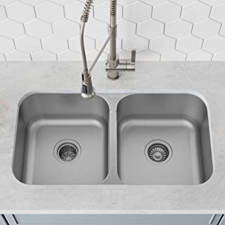 Best undermount butterfly corner kitchen sink Reviews