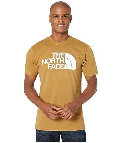 The North Face Short Sleeve Half Dome T-Shirt (British Khaki) Men