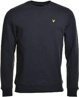 Lyle & Scott Crew Neck Sweatshirt Charcoal Marl