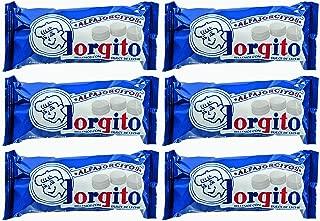 Jorgito Mini alfajores azucarados con dulce de leche 6 packs of 6. Total 36 units