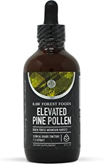 Elevated Pine Pollen and Nettle Root Tincture 4 Ounces — Support Endocrine Health and Performance, Adaptogenic and Tonic —...