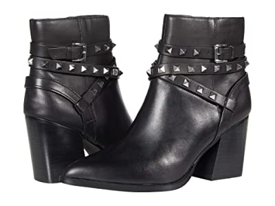 Steve Madden Cala Dress Bootie (Black Leather) Women