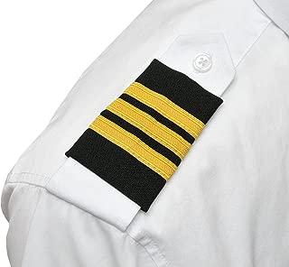 Professional Pilot Uniform Epaulets - Three Bars - First Officer