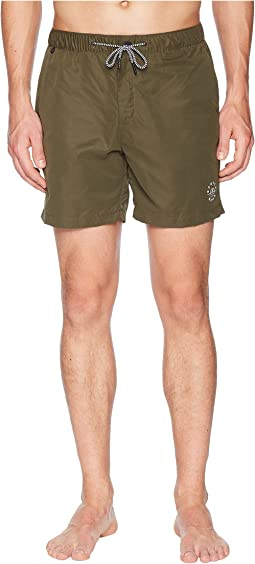 Scotch & Soda Medium length Mini-Motif Swim Shorts