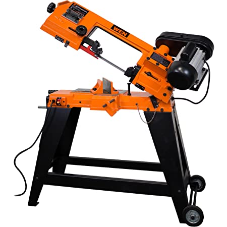 """WEN 3970 Metal-Cutting Band Saw with Stand, 4"""" x 6"""""""