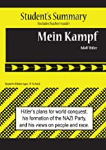 Mein Kampf Analysis and Summary(student's and Teacher's Edition)