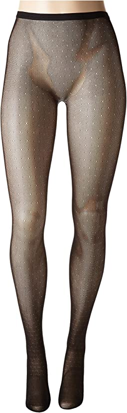 Bristles Shine Net Tights-Fine Gauge Net Tights