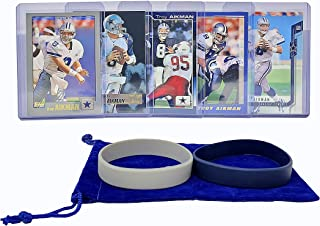 most valuable troy aikman football cards