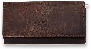 VINTAGE9 Women's Leather Wallet / Clutches, Muskat - Cornell