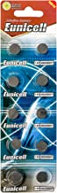10 x AG1 Eunicell Alkaline button cell batteries - G1 LR60 LR621 SR621W 364