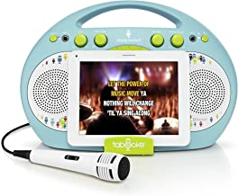 Singing Machine ISM398BG Karaoke System Home,Blue/Green