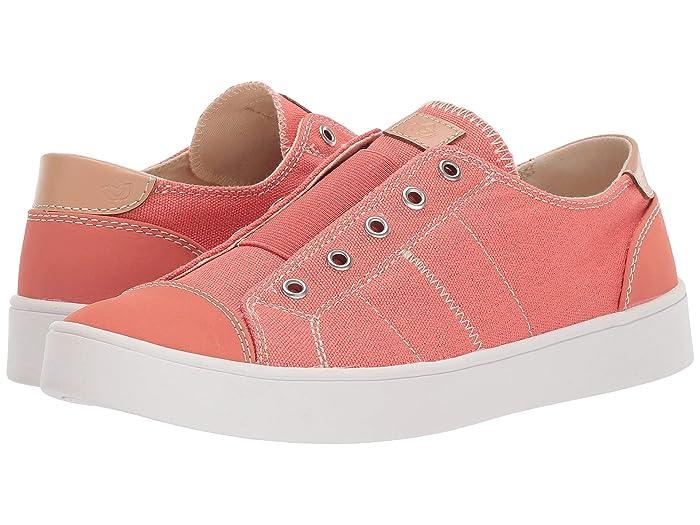 Spenco  Malibu Slip-On (Coral) Womens Shoes
