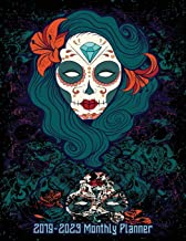 2019-2023 Monthly Planner: Mexican Sugar Skull 2019-2023 Monthly Planner and Five Year Calendar 8.5x11 144 Pages