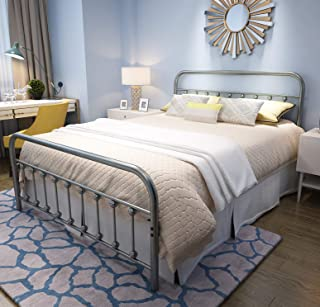 Best king size metal bed Reviews